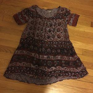 Mini bohemian dress